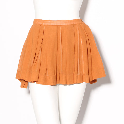 Vivienne Westwood Mini Pleated Skirt