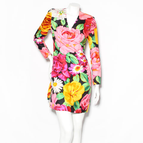 Lacroix Floral Long Sleeve Dress