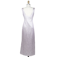 Sleeveless Foil Dress circa 1970s