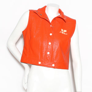 Courreges Vinyl Vest