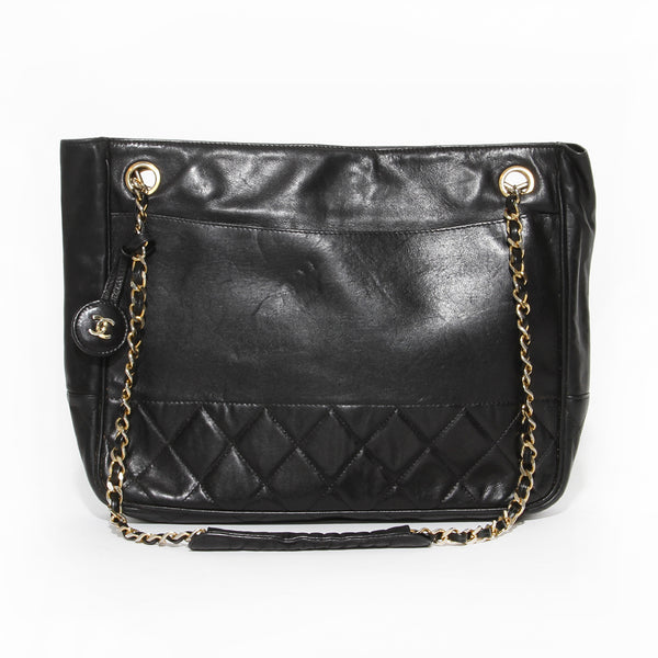 Chanel Chain Handle Tote