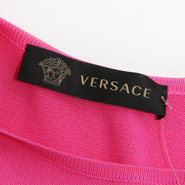 Versace Knit Medusa Dress