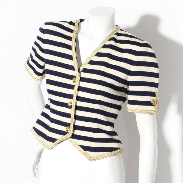 Bill Blass Striped Jacket