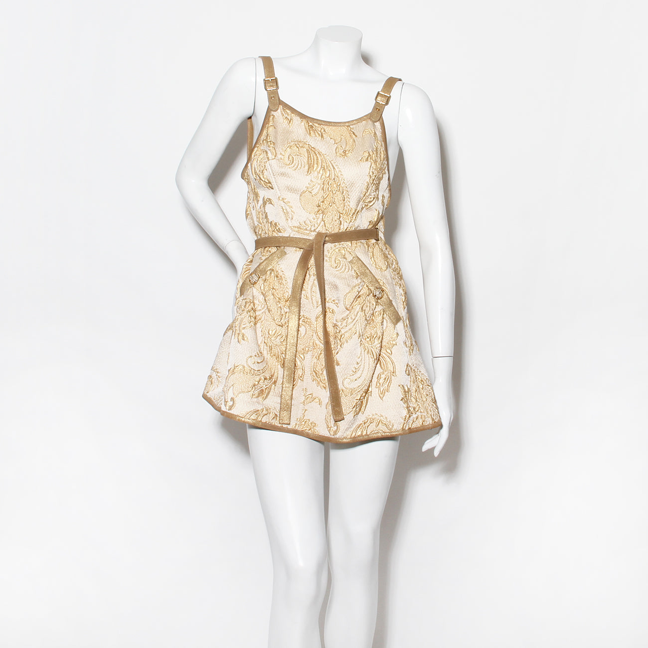 Chanel Brocade Mini Dress