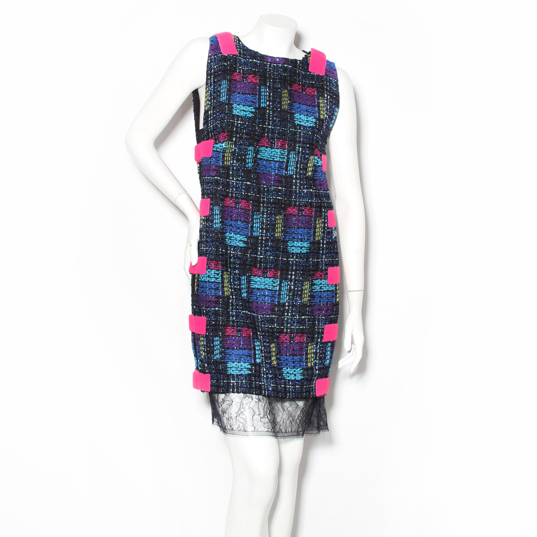 Chanel Fantasy Tweed Velcro Dress