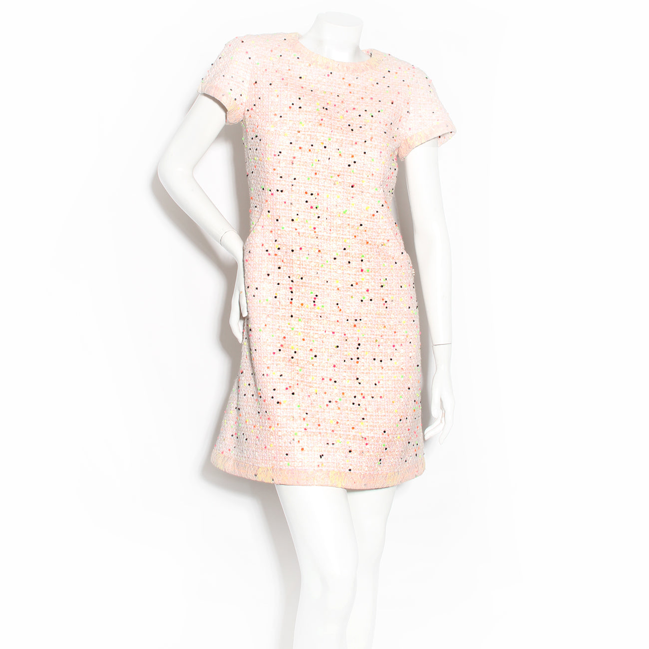 Chanel Spotted Fantasy Tweed Dress
