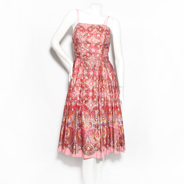 Shaheen Hawaiian print dress