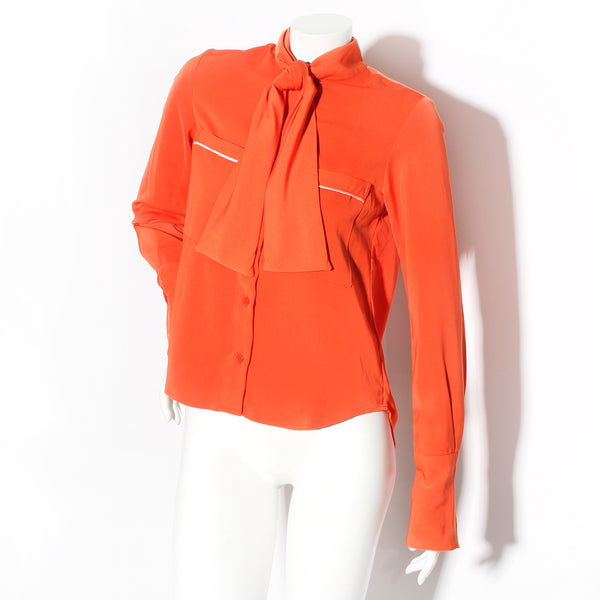 FWN Orange Blouse