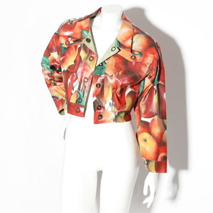 Feroudis Toannis Apple Print Jacket