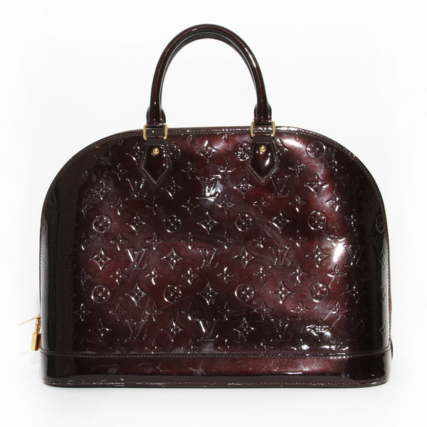 Louis Vuitton Alma Vernis Bag