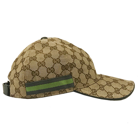GG Monogram Canvas Baseball Cap