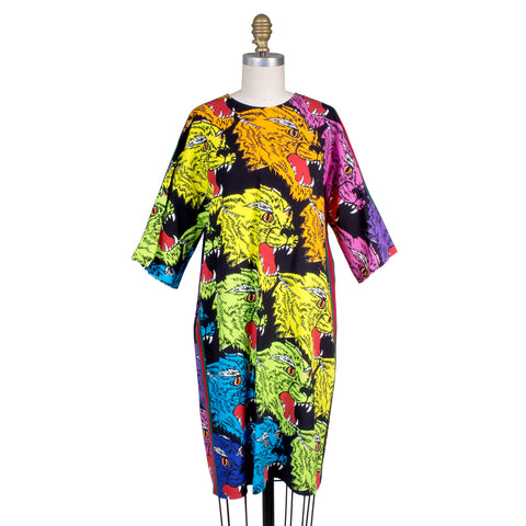 Gucci Panther Face Tunic Dress
