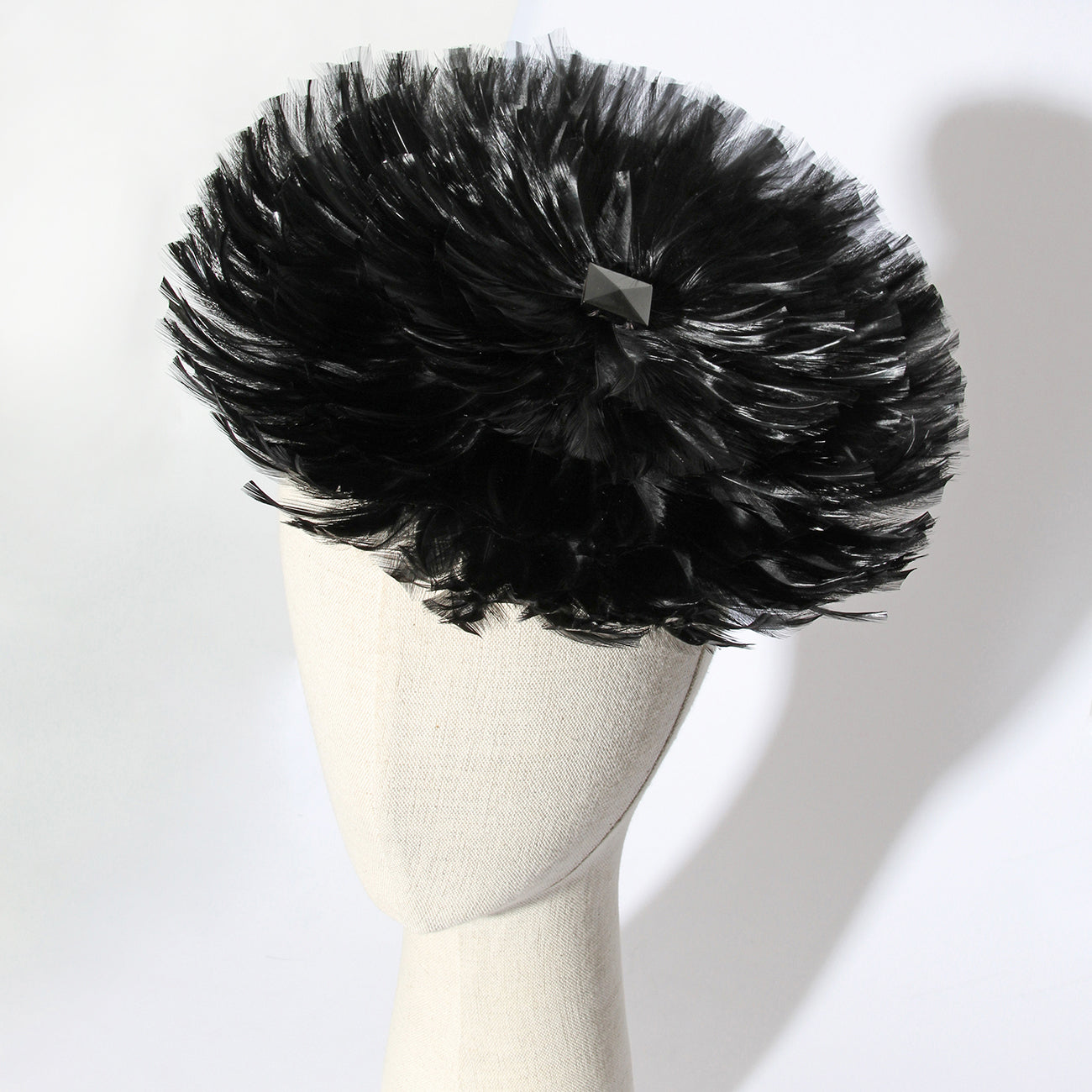 Adrian 1940's Feather Hat