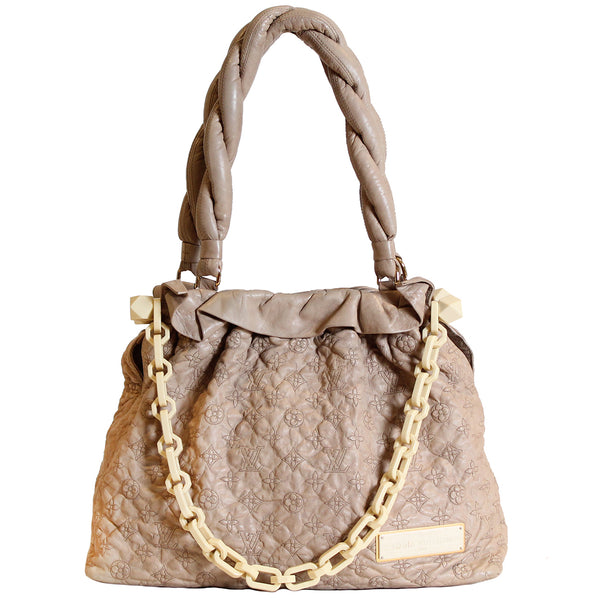 Limited Edition LV Monogram Leather Shoulder Bag