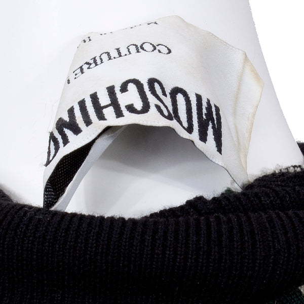 Moschino Knit Sleeve Sweater