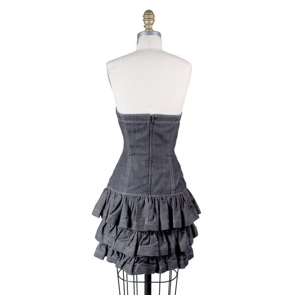 Patrick Kelly Denim Dress