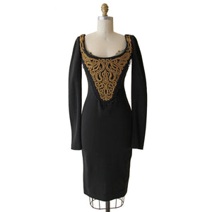 Pucci Embroidered Corset Dress