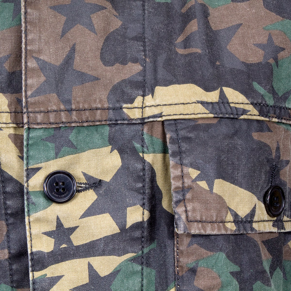 Saint Laurent Camo Star Jacket
