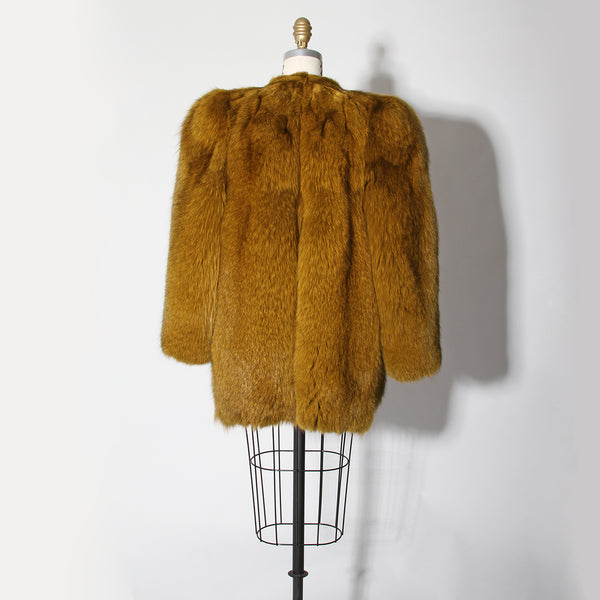 Vintage 70's Saint Laurent Fur Jacket