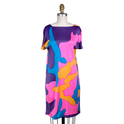 Andy Warhol Camouflage Shift Dress, 1980s