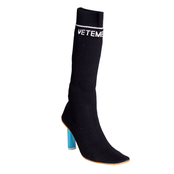 Vetements Lighter Heel Sock Boots (Tall)