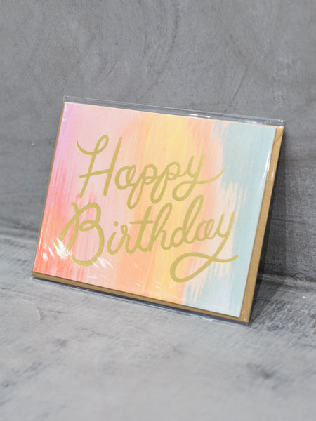 Sorbet Birthday Card, Accessories, Rifle Paper Co. - Melloré