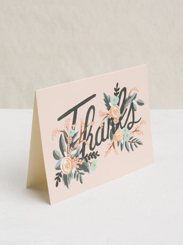 Woodland Thank You Card