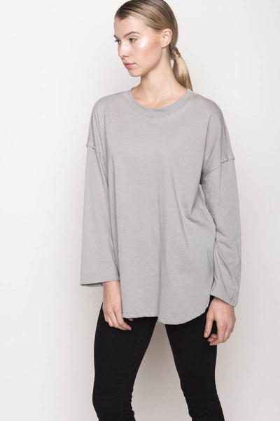 Cotton Tencel Tee, Clothing, LIBERZEN - Melloré