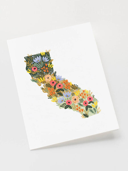 California Wildflowers Card, Accessories, Rifle Paper Co. - Melloré