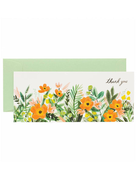 Honeydew Thank You No. 10 Card, Accessories, Rifle Paper Co. - Melloré