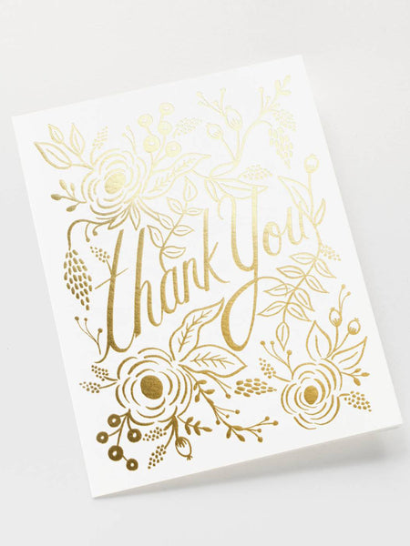 Marion Thank You Card, Accessories, Rifle Paper Co. - Melloré