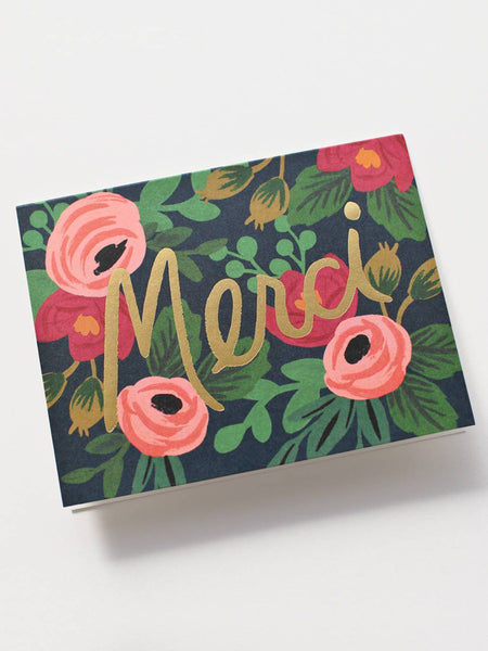 Rosa Merci Card, Accessories, Rifle Paper Co. - Melloré