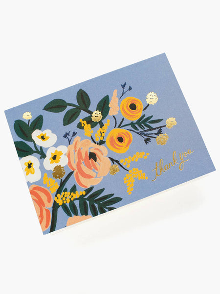 Robin Thank You Card, Accessories, Rifle Paper Co. - Melloré