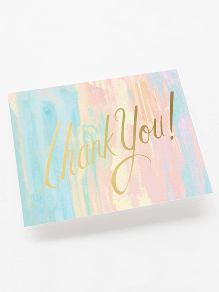 Watercolor Thank You Card, Accessories, Rifle Paper Co. - Melloré