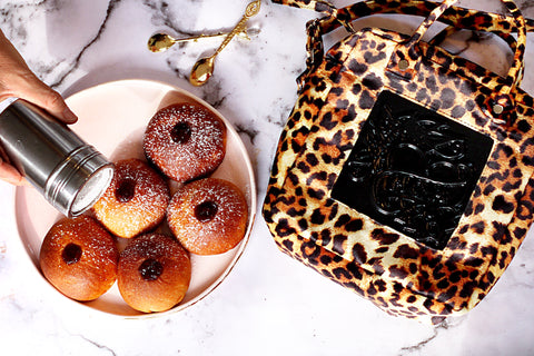 Medusa bags leopard collection for hanukkah