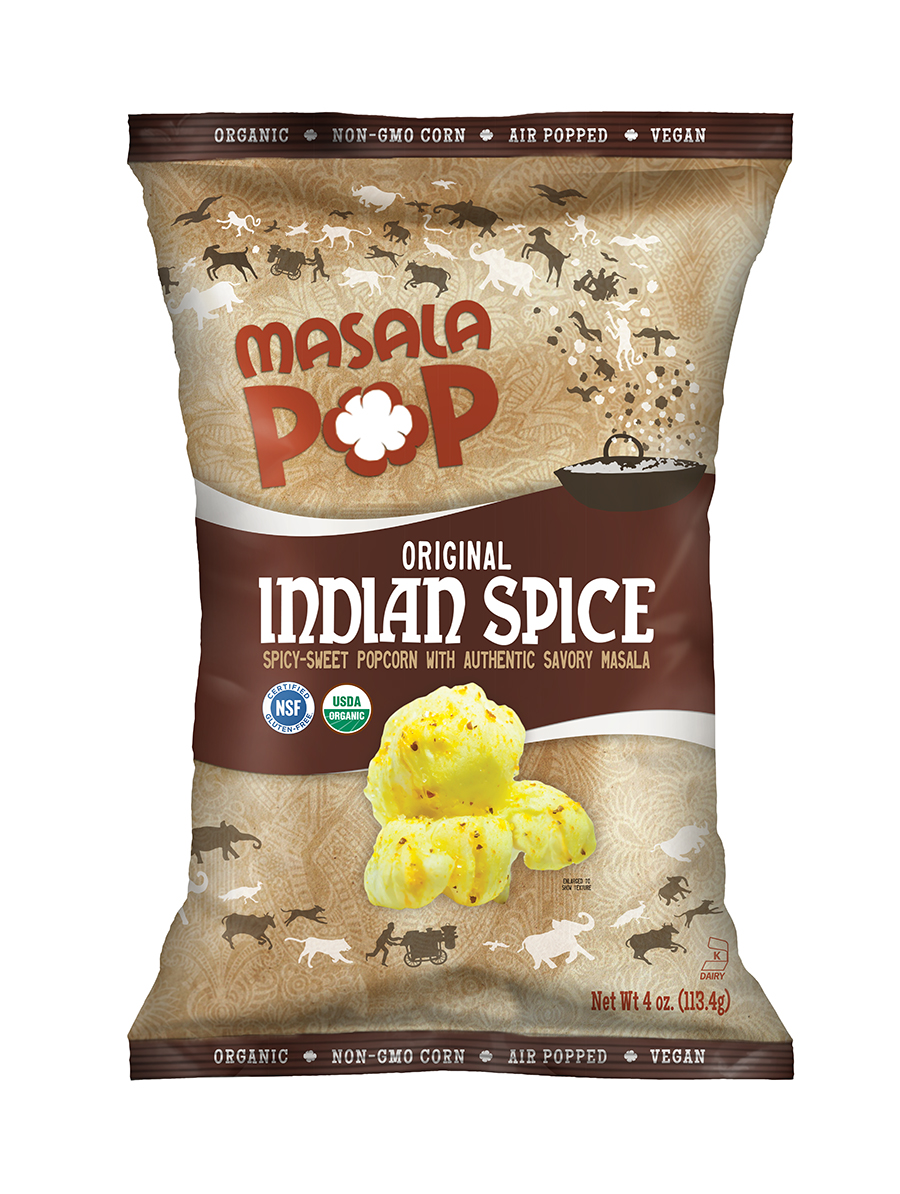 Indian Spice Popcorn