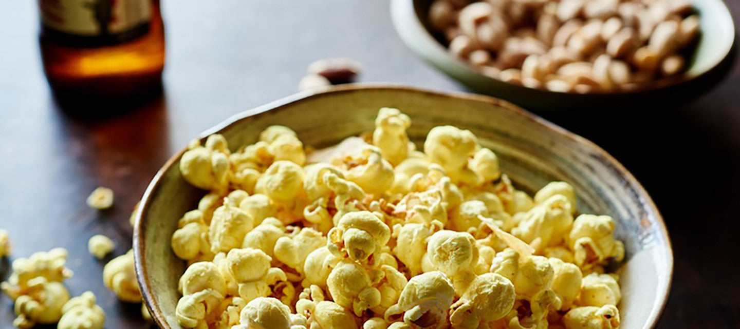 INDIAN SPICED POPCORN FIND US