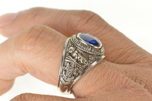 Load image into Gallery viewer, 10K 1969 Pennsylvania State University Class Ring Size 12.75 White Gold