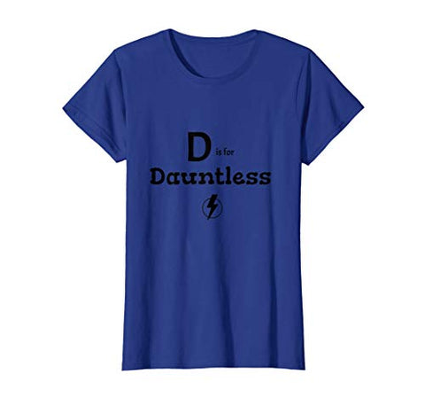 t-shirt dauntless superhero alphabet blue grey orange yellow green pink purple