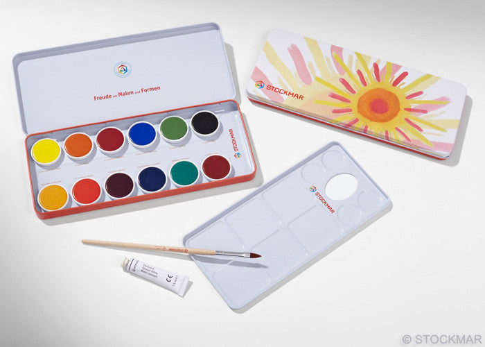 Stockmar Opaque Watercolor Set