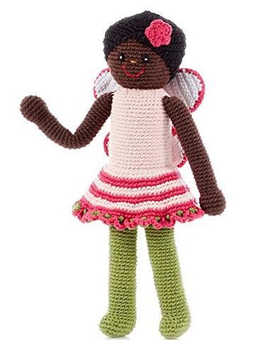 African American Doll Fairy Knit