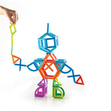 PowerClix Frames - 74 Piece Magnetic Construction Set - Beguiled Child  - 8