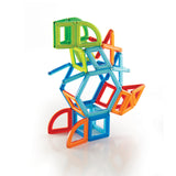 PowerClix Frames - 74 Piece Magnetic Construction Set - Beguiled Child  - 9