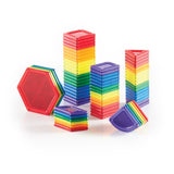 PowerClix Solids - 70 Piece Magnetic Building Set - Beguiled Child  - 2