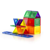 PowerClix Solids - 70 Piece Magnetic Building Set - Beguiled Child  - 4