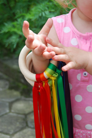 Rainbow Hand Kite - Beguiled Child  - 1