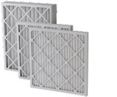 "12"" x 25"" x 2"" MERV 8 Pleated Filter - 12 pk"