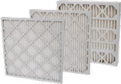 "16 x 25 x 4"" MERV 13 Pleated Furnace Filters - 6 pk"