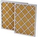 "16 x 20 x 4"" MERV 11 Pleated Furnace Filters - 6 Pack"