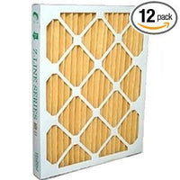 "16 x 20 x 2"" MERV 11 Pleated Furnace Filters - 12 Pack"